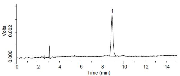 添加水平为20 mg/kg虾条中胭脂虫红检测的液相色谱图.jpg